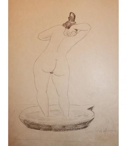 Esquisse de Virot, 1926.