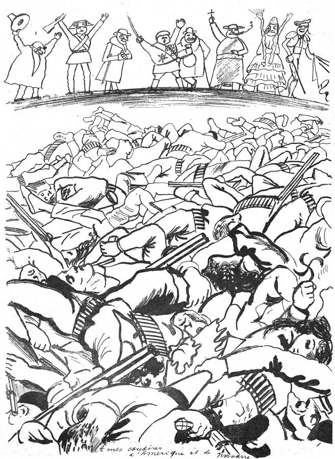 """Dessin paru dans """"Le Rire"""", n°977, 15 avril 1938."""
