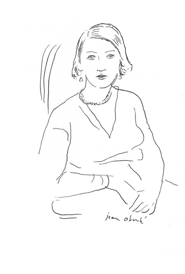 Thora Dardel vue par Jean Oberlé.
