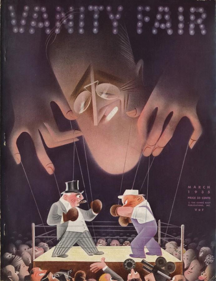 """Couverture de Paolo Garretto pour """"Vanity Fair""""."""
