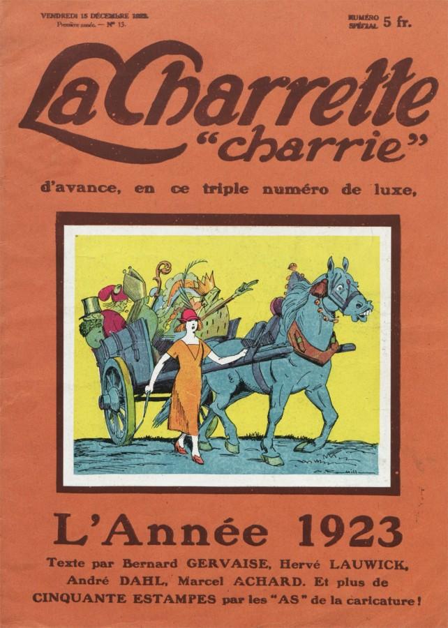 Charrette charrie. 1922/12/15.